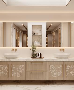 Dare Interiors - Blossom Bathroom