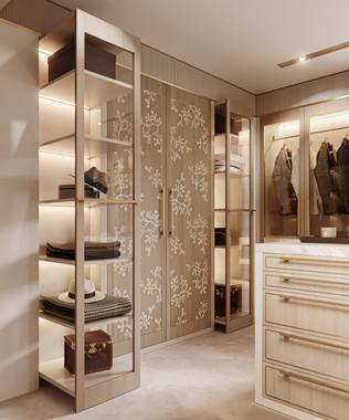 Dare Interiors Blossom closet wardrobe