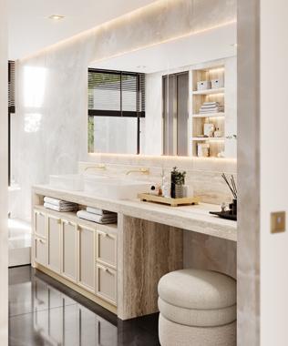 Dare Interiors - Quincy Bathroom